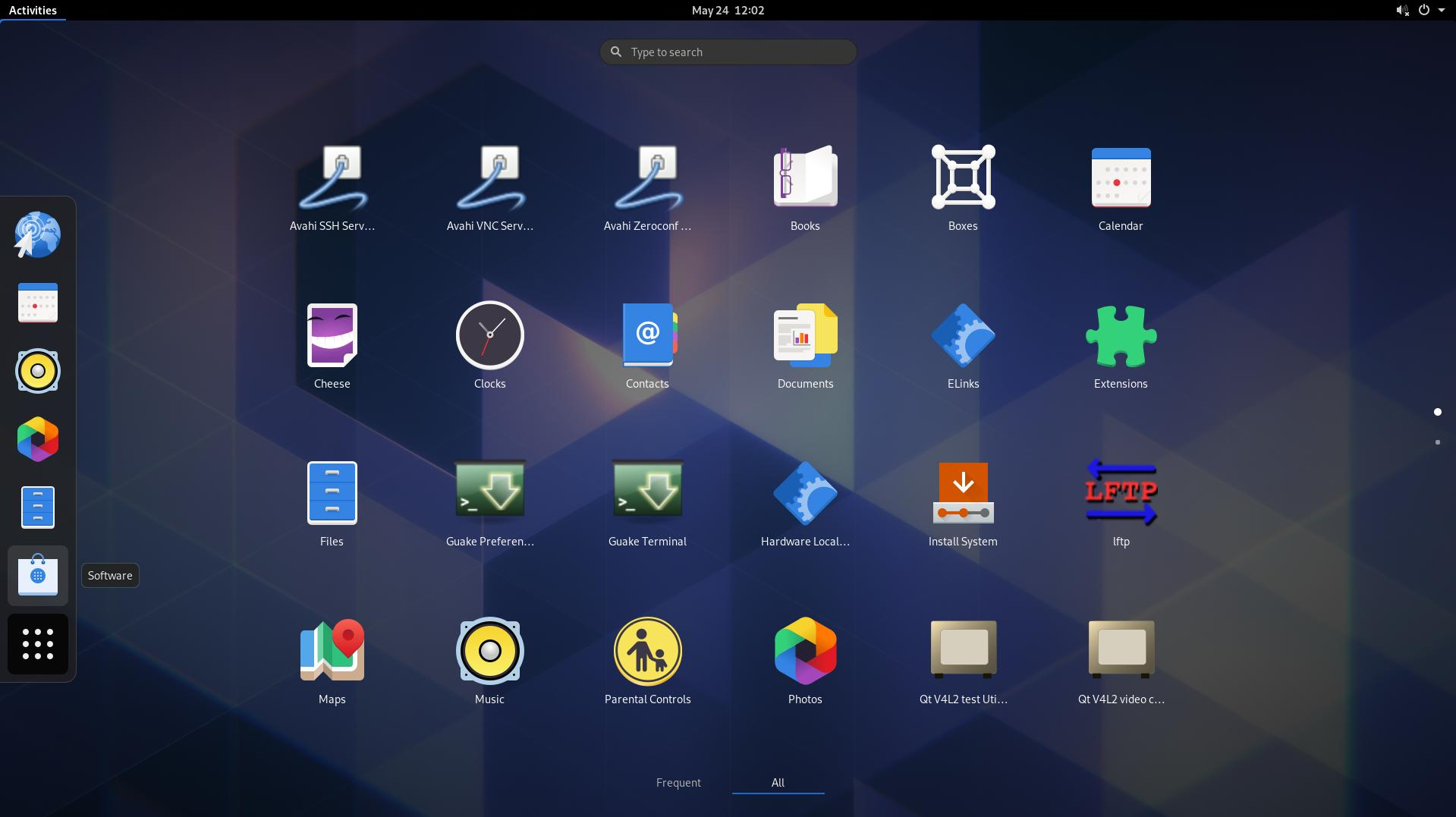 10 Using the Gnome desktop just because we can
