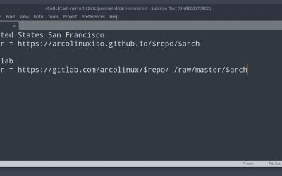 10 Adding more servers for our repository – creating our own mirrorlist